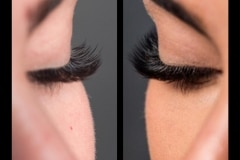 Classic vs Volume Lashes